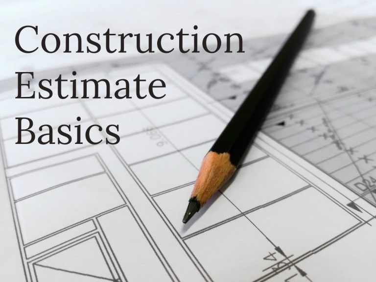 Construction Estimate: Construction Costs 101 | Construct-Ed