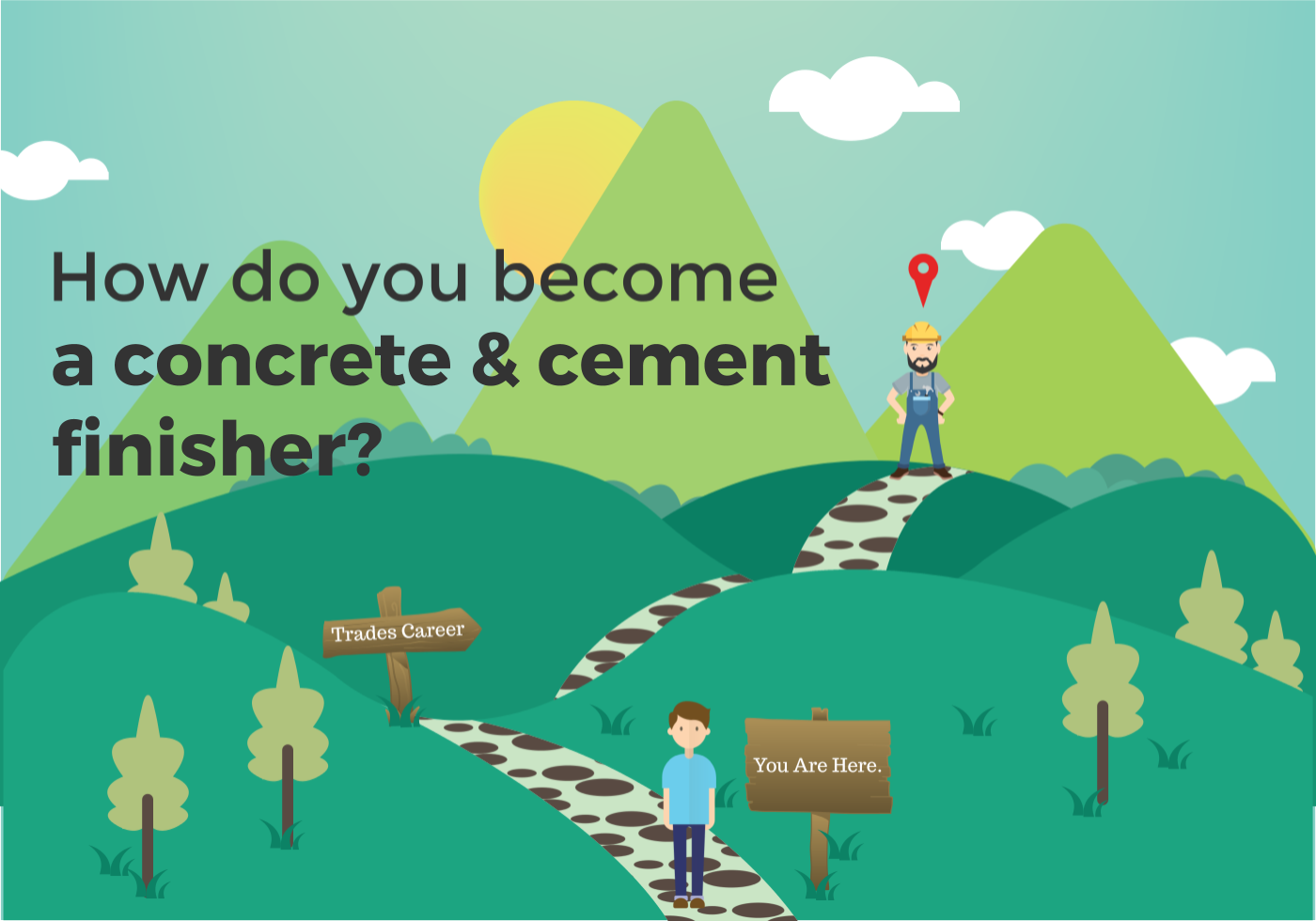 how to become a Cement & Concrete Finisher