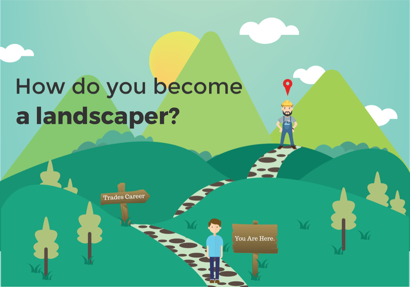 how to become a landscaper